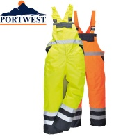 Contrast Bib & Brace Waterproof Breathable LINED  - S489