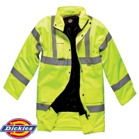 Dickies Hi Vis Traffic Jacket - SA22045