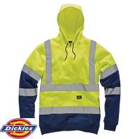 Dickies High Visibility Two Tone Hoodie - SA22095
