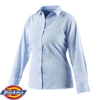Dickies Ladies Oxford Weave Long Sleeve Shirt - SH64300