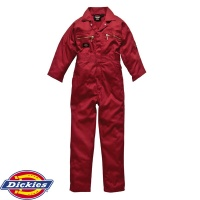 Dickies Redhawk Junior Zip Boilersuit - WD4839J