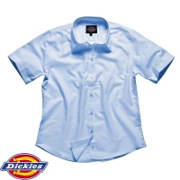 Dickies Ladie's Oxford Weave Short Sleeve Shirt - SH64350