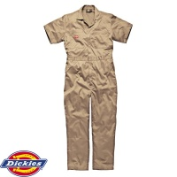Dickies Short Sleeved Cotton Coverall - WD2299