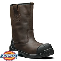 Dickies Stafford Waterproof Rigger Safety Boots - FC9528A