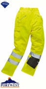 Portwest Hi-Vis Action Trousers - E061