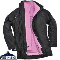 Elgin 3 in 1 Ladies Workwear Jacket - S571