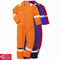 Portwest Lightweight Anti Static Flame Retardant Coverall - FR28