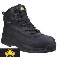 Amblers Hybrid Memory Foam Footbed Safety Boot  - FS430