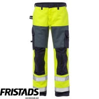 Fristads Flame Retardant High Vis Class 2 Trousers 2585 FLAM - 125940
