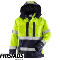 Fristads Flame Retardant High Vis Class 3 Airtech® Shell Jacket 4022 FLR - 129869