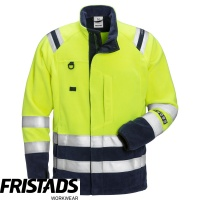 Fristads Flamestat High Vis Class 3 Fleece Jacket 4063 ATF - 122233
