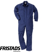 Fristads Industrial Cotton Front Zipped Kneepad Coverall 880 FAS - 100319