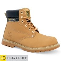 Heavy Duty Honey SBP/SRC Goodyear Welted Safety Boot - HD44P