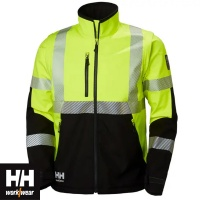 Helly Hansen ICU Hi Vis Class 3 Softshell Jacket - 74272