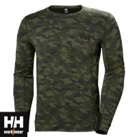 Helly Hansen Lifa Merino Crewneck Baselayer Top- 75106