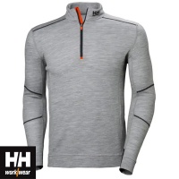 Helly Hansen Lifa Merino Half Zip Baselayer Top - 75107