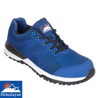 Himalayan Blue Bounce Non Metallic Fibre Glass Toe Cap Safety Trainer - 4310