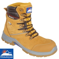 Himalayan Honey High Cut Waterproof Fibre Glass Toe Cap Safety Boot - 5211