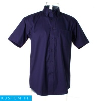 Corporate Oxford Shirt Short Sleeved - KK109