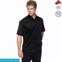 Kustom Kit Mens Short Sleeve Bar Shirt - KK120