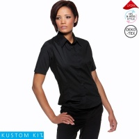 Ladies Short Sleeved Bar Shirt - KK735