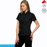 Ladies Mandarin Collar Bar Shirt - KK736