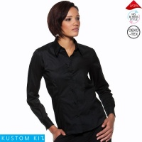 Ladies Long Sleeved Bar Shirt - KK738