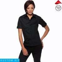 Ladies Turn Back Cuff Bar Shirt - KK739