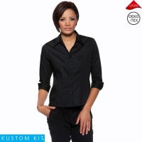 Ladies 3/4 Sleeve Bar Shirt - KK745