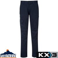 Portwest KX3 Slim Fit Cargo Trouser - T801