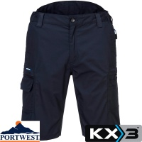 Portwest KX3 Two Way Stretch Ripstop Shorts - KX340