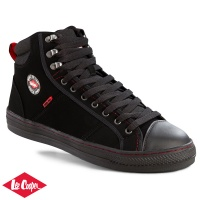 Lee Cooper Black Baseball Style Safety Boot - LC022B