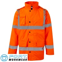 Fort Hi Vis Motorway Jacket - 210