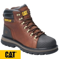Cat Foxfield Lace Up Water Resistant Safety Boot - FOXFIELD