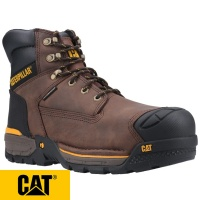 Cat Excavator Waterproof Safety Boot - EXCAVATOR