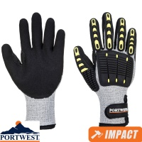 Portwest Anti-Impact Cut Resistant Thermal Glove - A729
