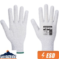 Portwest Antistatic Micro Dot Glove ESD - A196