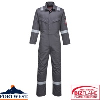 Portwest Bizflame Flame Resistant Ultra Coverall - FR93