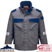 Portwest Bizflame Flame Resistant Ultra Two Tone Jacket - FR08