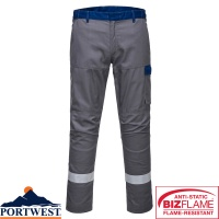 Portwest Bizflame Flame Resistant Ultra Two Tone Trouser - FR06