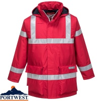 Portwest Bizflame Rain Anti-Static Flame Retardant Jacket - S785