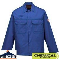 Portwest Chemical Resistant Workwear Jacket  - CR10