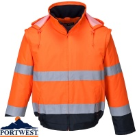 Portwest Hi Vis Essential Waterproof  2-in-1 Jacket - C464
