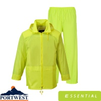 Portwest Essentials Rainsuit (2 Piece Suit) - L440