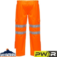 Portwest Hi Vis Waterproof & Breathable Extreme Trouser - S597