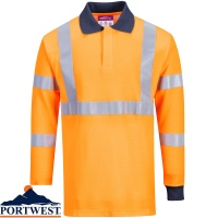 Portwest Flame Resistant RIS Polo Shirt - FR76