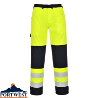 Portwest Flame Retardant Hi Vis Multi-Norm Trousers -  FR62