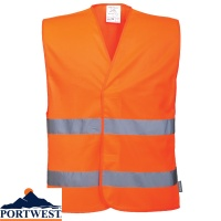 Portwest Hi-Vis Two Band Vest - C474