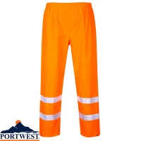 Portwest Hi Vis Water Resistant Traffic Trousers - S480
