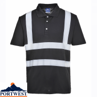 Portwest Iona Hi-Vis Polo Shirt - F477